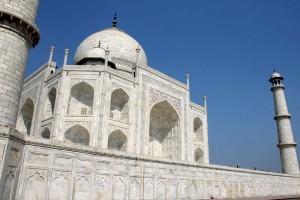 Taj mahal. Golden Triangle Tours of Delhi, Agra and Jaipur