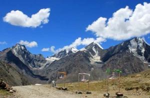 Kunzum La, Spiti, Himachal Pradesh, India