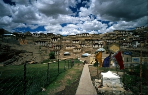 A village in Leh