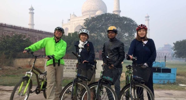 cycling tours agra