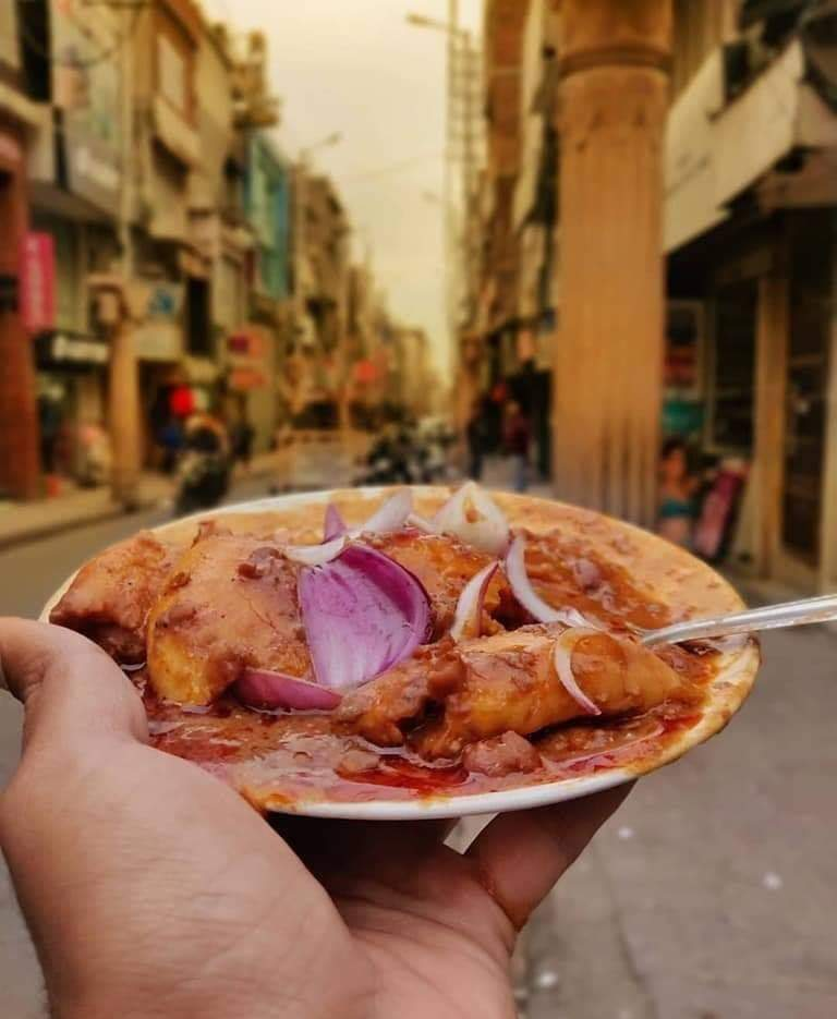 Bhijja Kulcha with Rajma (kidney beans). World's best Rajma are grown in Jammu and this is evident in the number of Rajma dishes available in region. Another popular dish is Raajma Chawal served with mango pickle, chutney and clarified butter on some food shops on NH1 near Banihal.