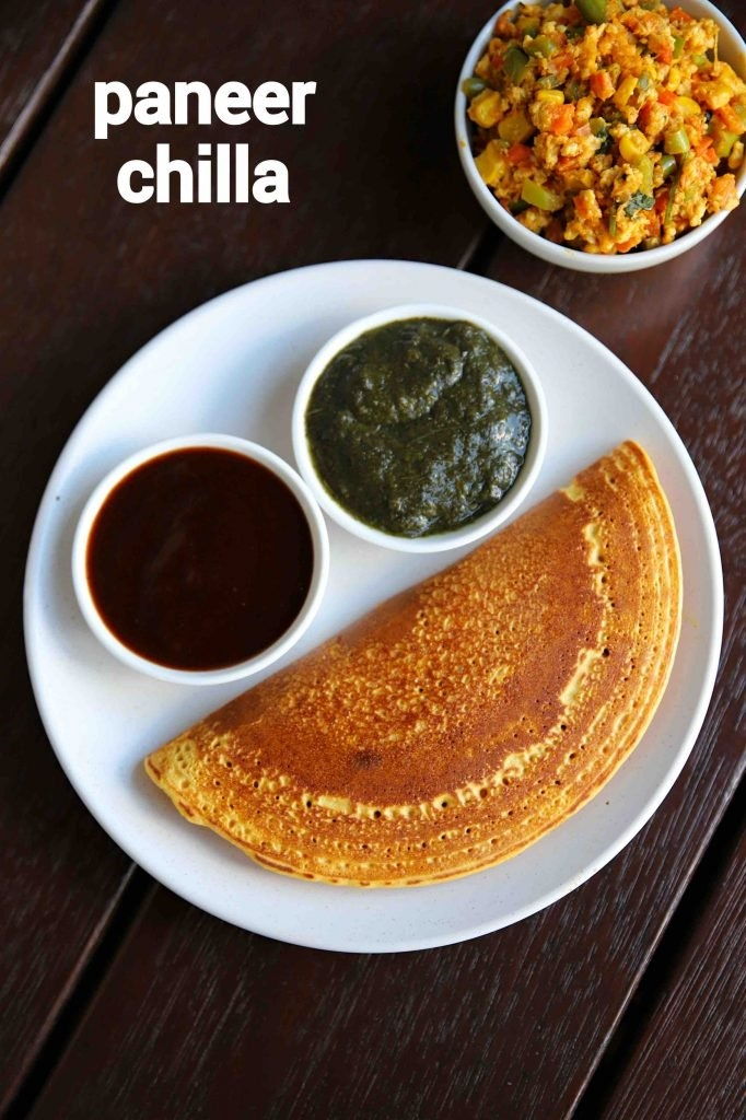 Chilla is also known as Chhattisgarhi dosa.It is made up of rice flour and Urad dal. An official dish of morning or evening served with different types of chutney with no filling inside the chilla.