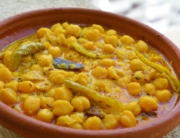 Madra is a delicacy that belongs to Chamba district of Himachal Pradesh. This dish consists of the soaked chickpeas or vegetables. Madra is one of those dishes that represents the food culture of Himachal Pradesh and is available at every restaurant, and on festivals, offered to you with utmost love.