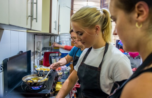 Cooking class with chefs