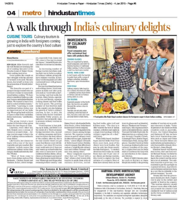 Hindustan-Times-.-4-Jan-2015-Page-6-India-Food-Tour-600x669