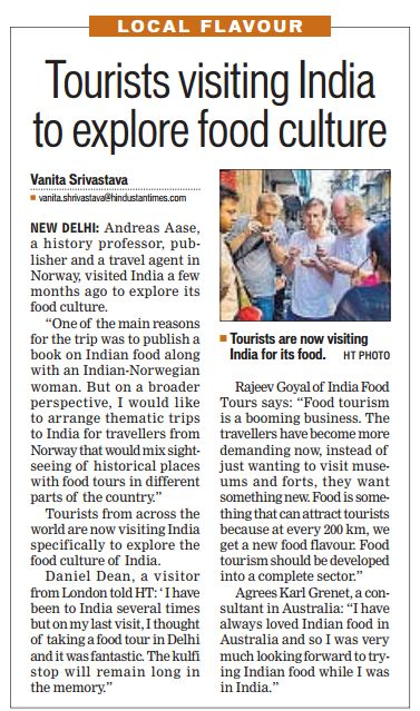 Hindustan-times-India-food-tour-on